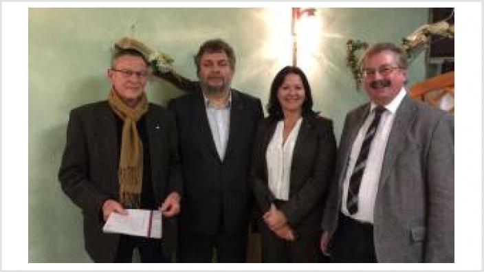 Neu gewählter Vorstand in Hechtsheim